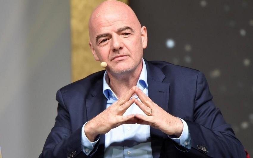 FIFA prezidenti: Milli assosiasiyalar və klublara kömək etməyə borcluyuq