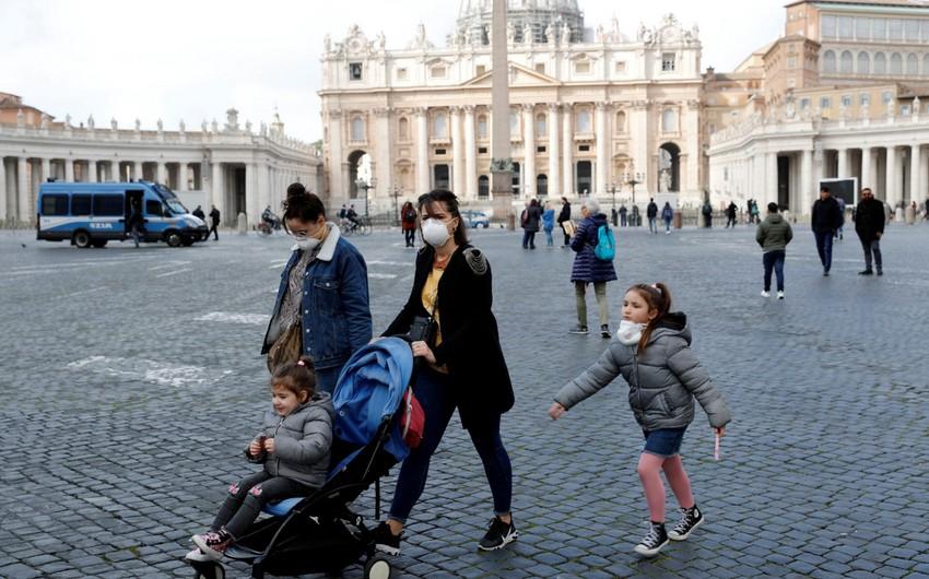İtaliyada 24 saatda koronavirusdan rekord sayda insan öldü