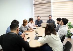 Digital Media and Society Specialist holds training at Report Media School