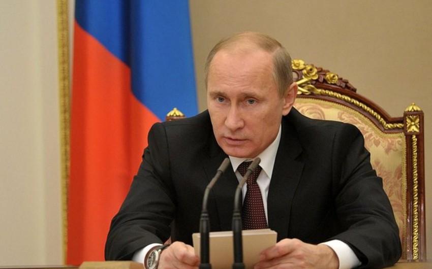 Putin Rusiyanın neft şirkətlərinin rəhbərləri ilə görüşəcək