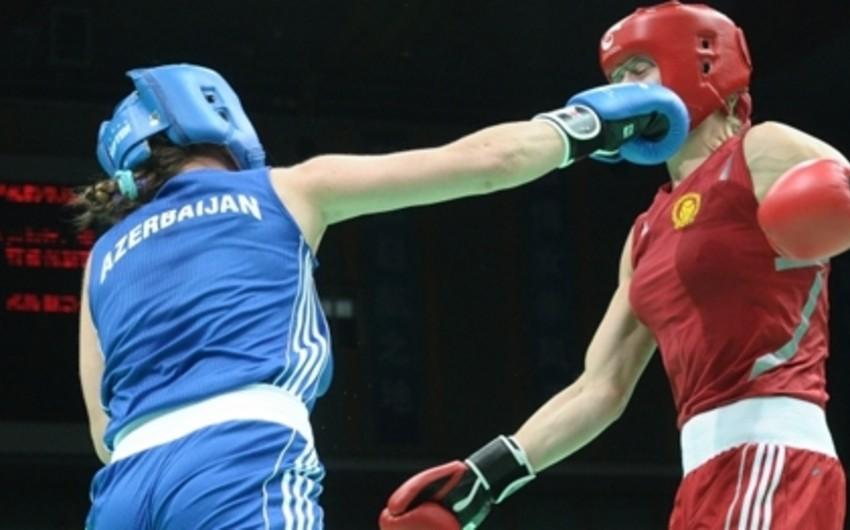 Azərbaycanın daha 2 qadın boksçusu dünya çempionatının 1/4 finalına yüksəlib