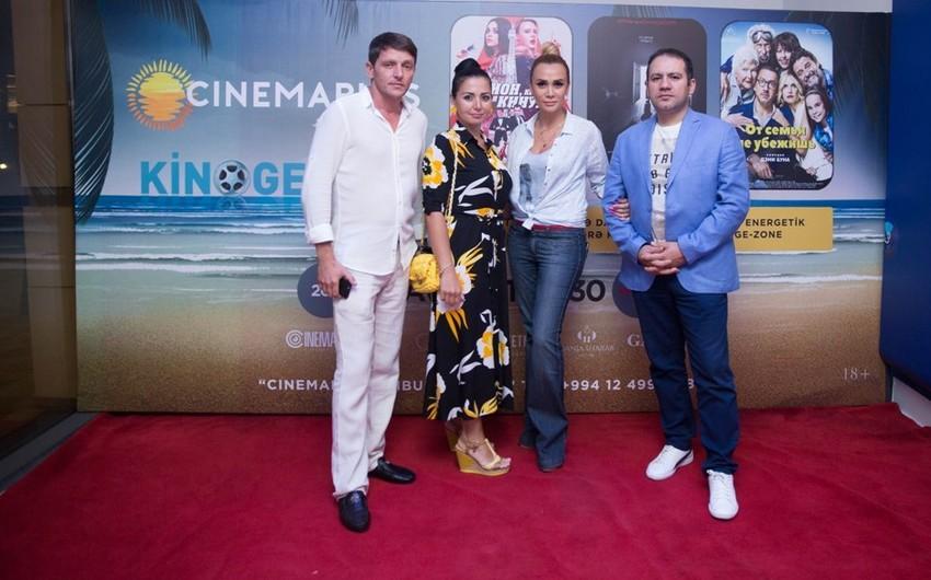 """CinemaPlus""da ""Kino Gecəsi"" keçirilib - VİDEO"