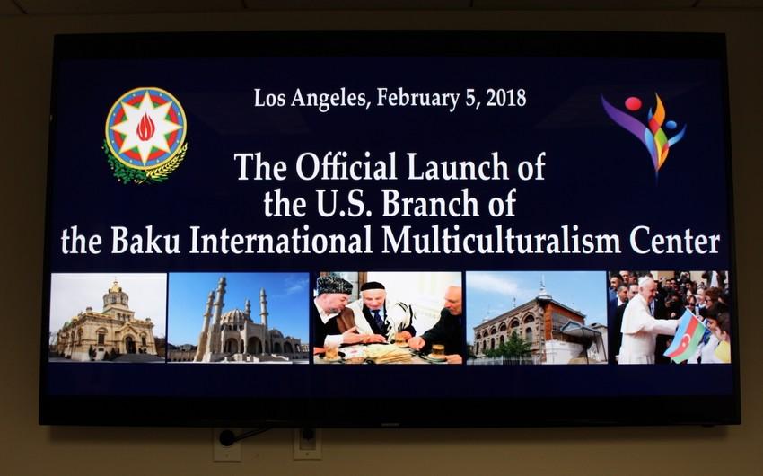 US Branch of Baku International Multiculturalism Centre opens in Los Angeles