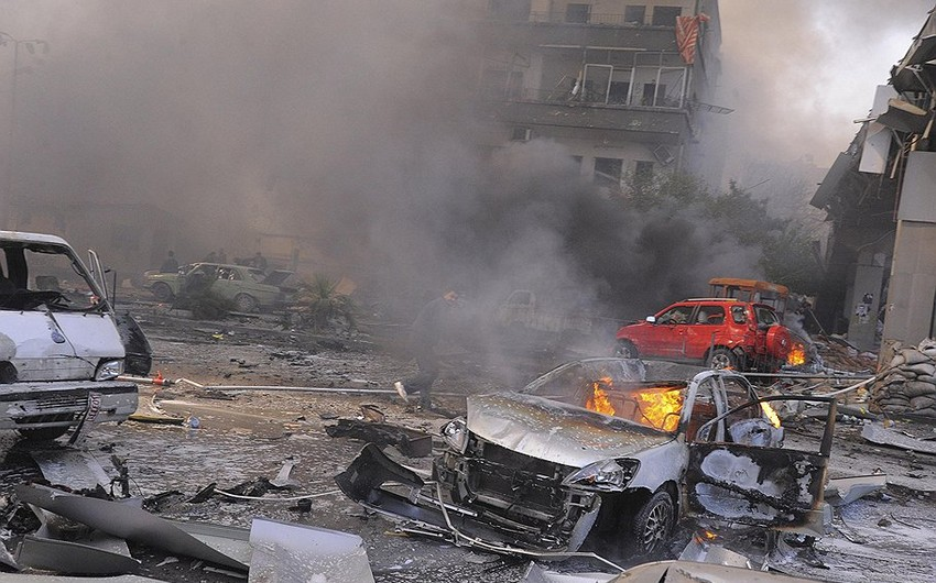 Suriyada partlayış nəticəsində 6 nəfər ölüb
