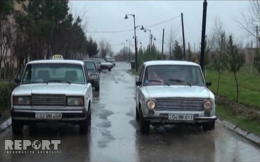 В Агджабеди угнан легковой автомобиль вынужденного переселенца - ФОТО