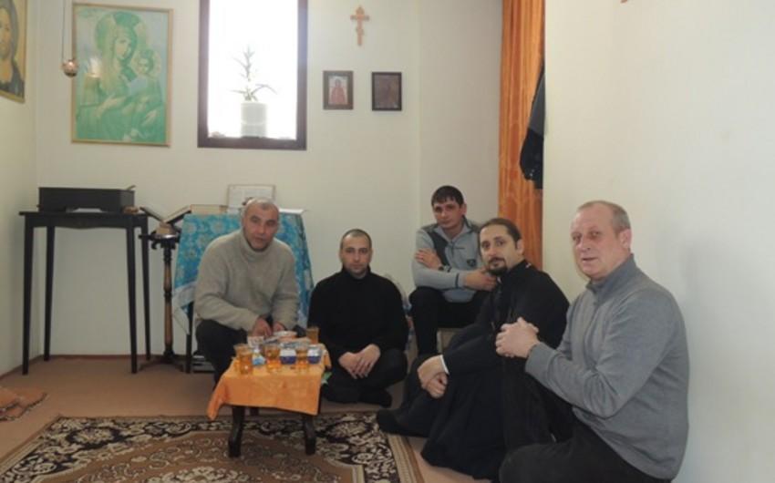 В исправительных учреждениях Азербайджана отметили Рождество