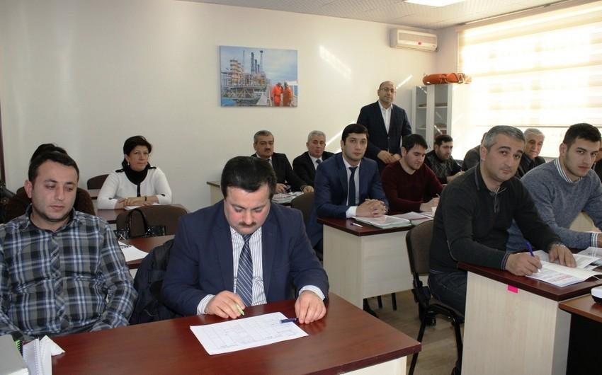 SOCAR-ın Təlim, Tədris və Sertifikatlaşdırma İdarəsində Daxili Auditor kursu təşkil olunub