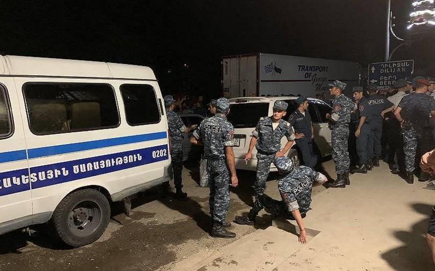 Yerevanda atışma olub, ölən və yaralananlar var