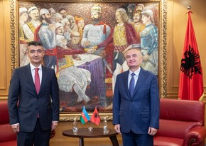 Albanian President supports territorial integrity of Azerbaijan