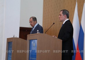 Bayramov, Lavrov mull tensions on Azerbaijan-Armenia border