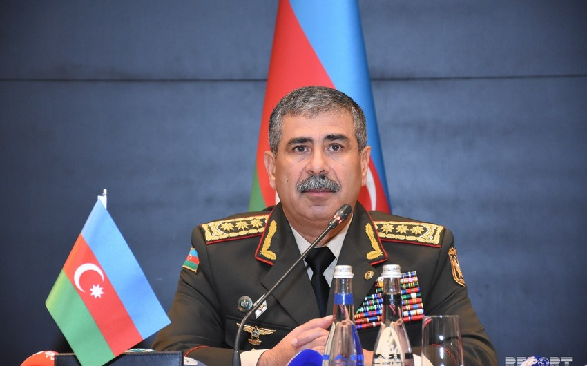 Azerbaijan Defense Minister leaves for Turkey