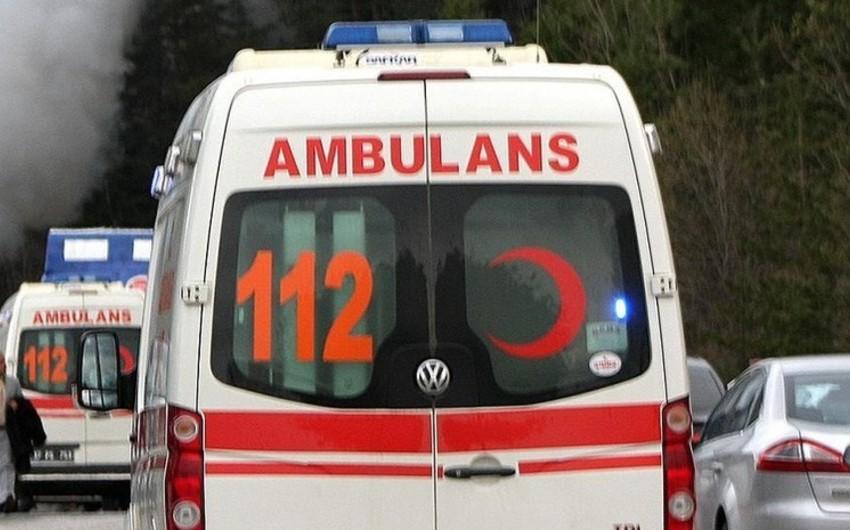 Türkiyədə rus turistləri daşıyan avtobus qəzaya uğrayıb, 22 nəfər xəsarət alıb