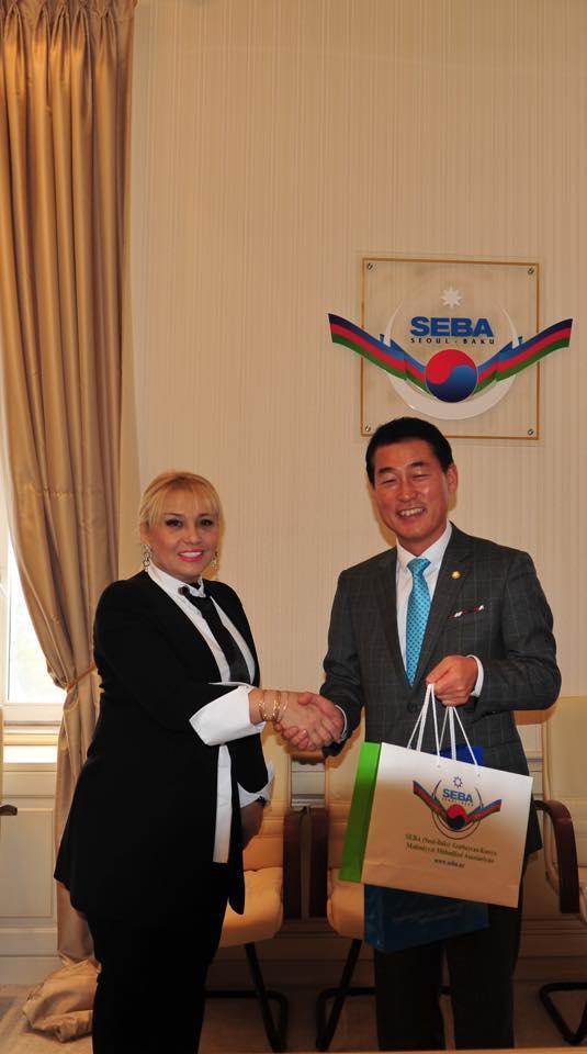 Koreya parlamentinin Azərbaycanla dostluq qrupunun üzvləri SEBA-nın qonağı olublar