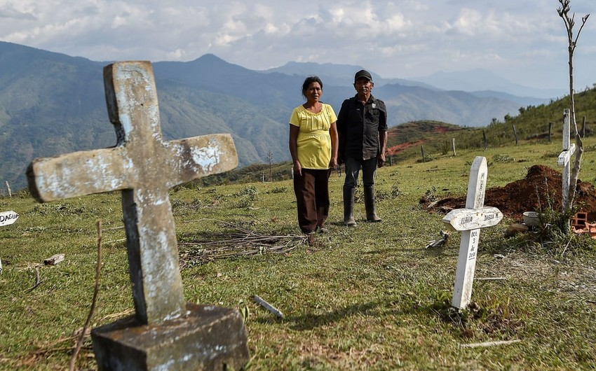 Kolumbiyada virus 14 mindən çox insanın həyatına son qoydu