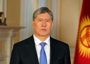Qırğızıstanın keçmiş prezidenti aclıq elan edib