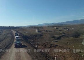 Foreign journalists visit airport construction site in Azerbaijan's Fuzuli