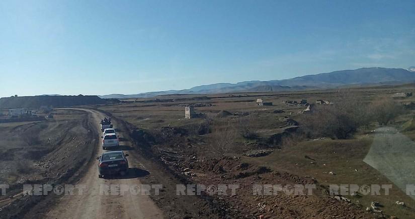 Иностранные журналисты посетили место строительства аэропорта в Физули