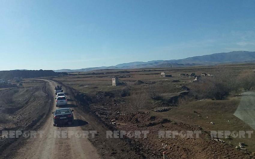 Foreign journalists visit airport construction site in Azerbaijan's Fuzuli