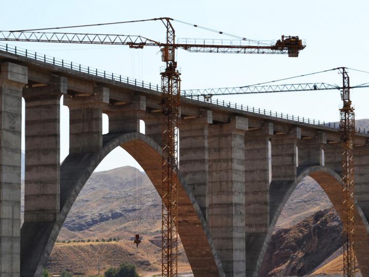 Завтра состоится церемония закладки железнодорожного моста между Азербайджаном и Ираном