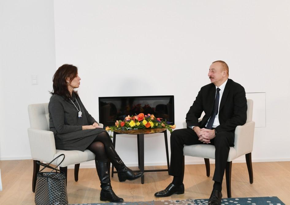 Президент Ильхам Алиев встретился с вице-президентом CISCO