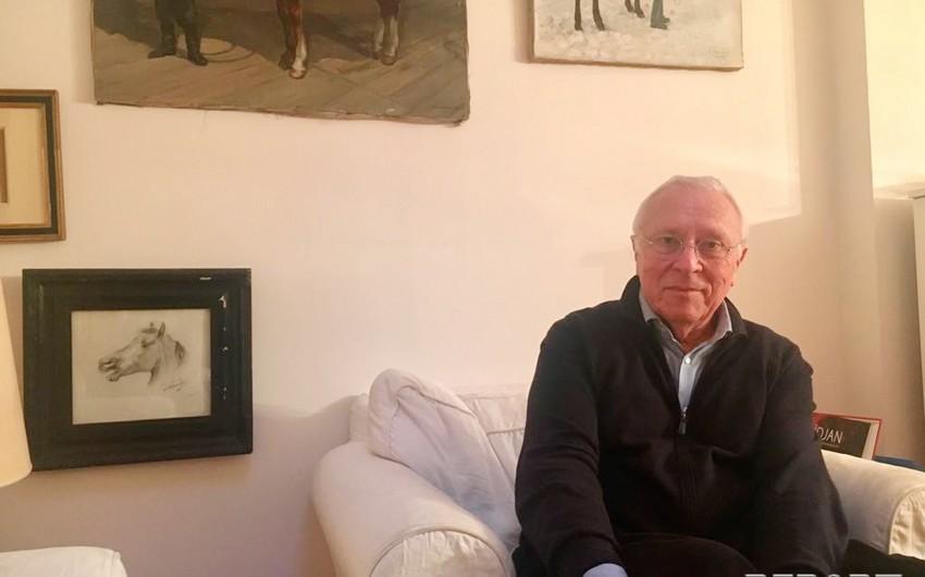 Fransalı yazıçı: Azərbaycana məxsus Qarabağ atlarının tarixi vətəni işğal altındakı Qarabağ torpaqlarıdır - MÜSAHİBƏ