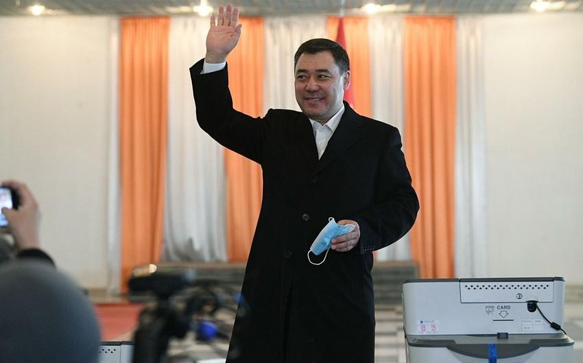 Sadır Japarov Qırğızıstanda prezident seçkilərində qalib gəldi
