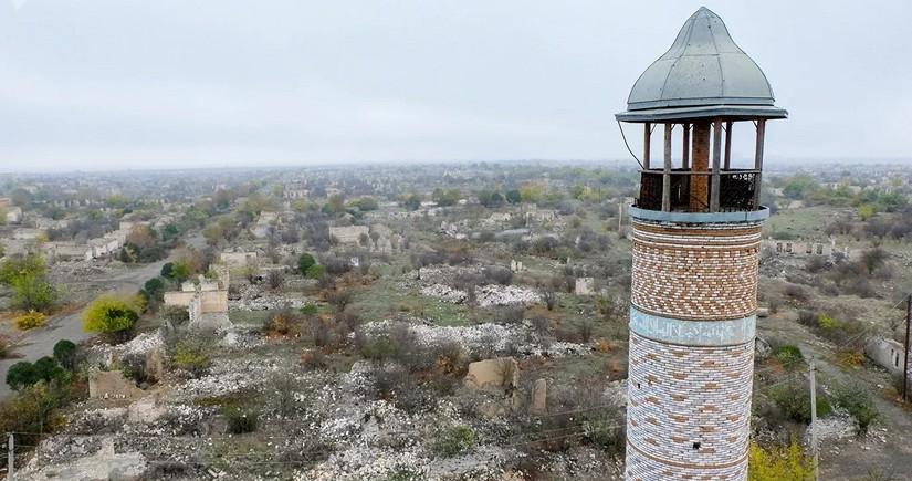 Армяне полностью разрушили 286 библиотек, 237 домов культуры, 19 музеев