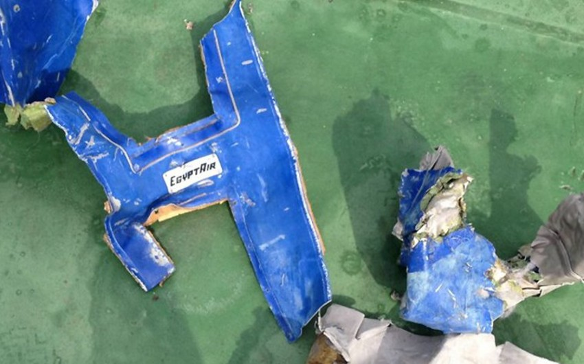 Ekspertiza: EgyptAir təyyarəsinin göyərtəsində partlayış olub