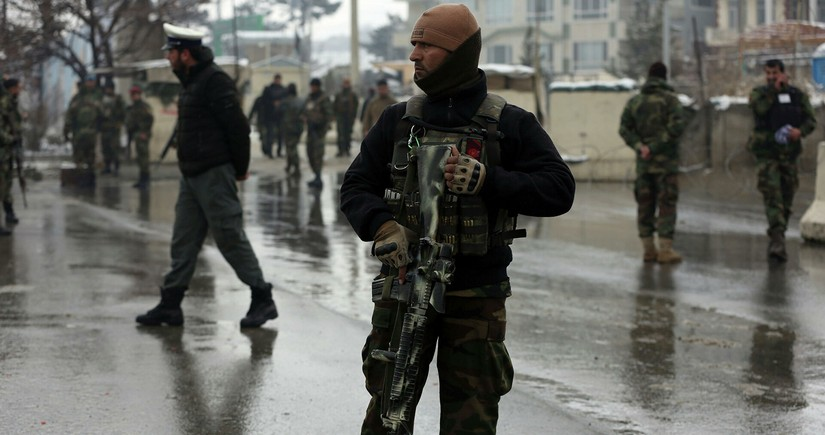 Five police officers killed in militant attack in Afghanistan