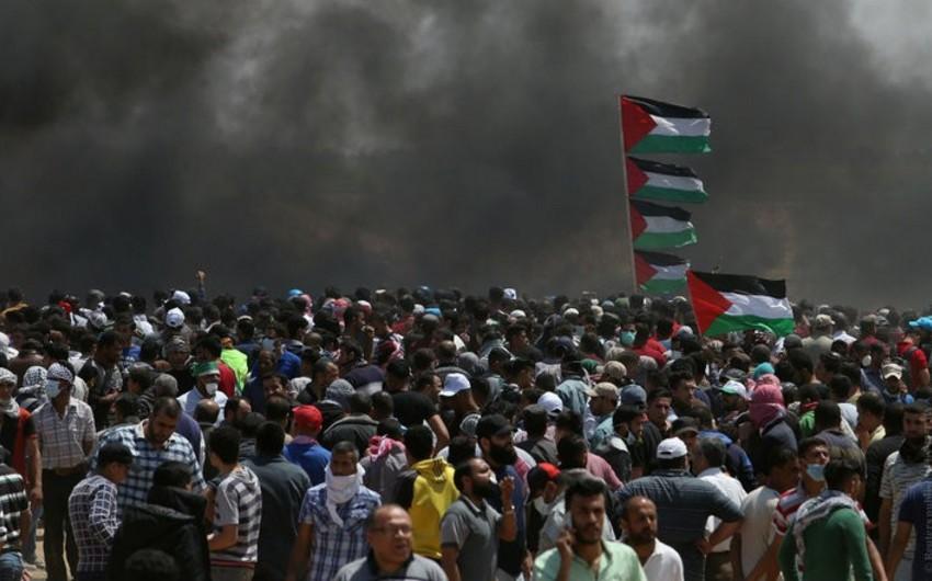Qəzzada İsrail hərbçiləri ilə toqquşmalarda 3 fələstinli ölüb