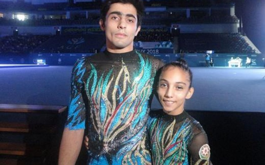 Azərbaycan akrobatları Avropa çempionatında daha bir bürünc medal qazanıblar