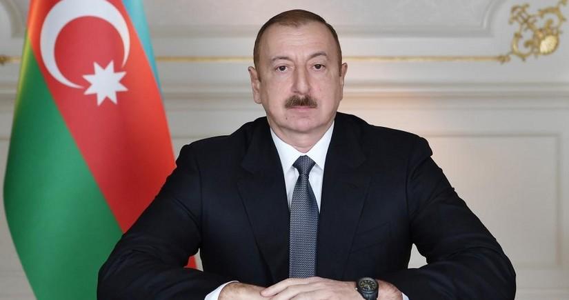 Prezident İlham Əliyev və Mehriban Əliyeva Tatarıstan Prezidentinə başsağlığı veriblər