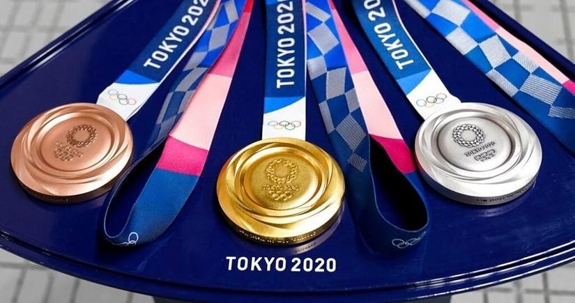 Tokio-2020: 29 dəst medalı 40 ölkə qazandı - SİYAHI