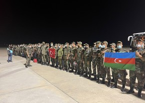 Azerbaijani firefighters arrive in Turkey to help contain forest fire