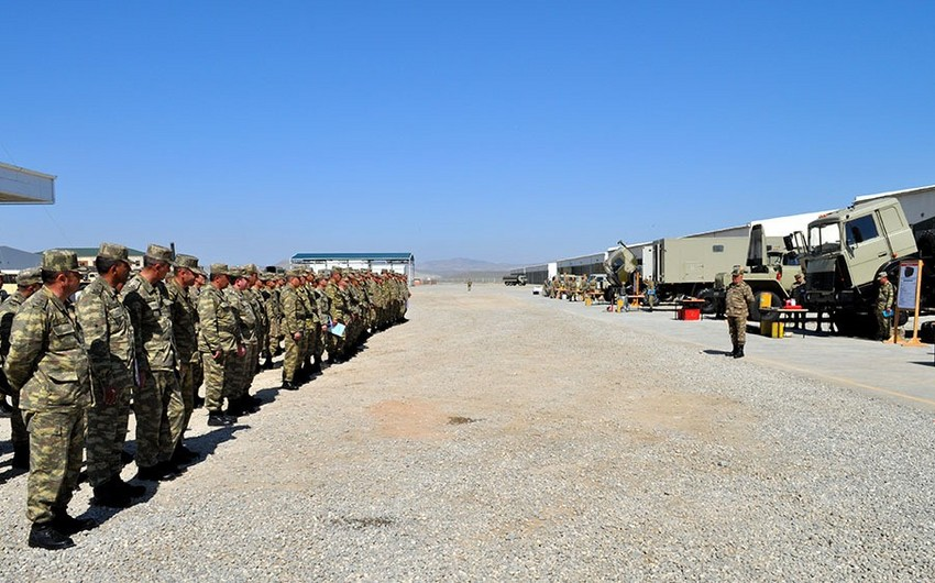 Weapons and military equipment of Azerbaijani Army transferred into the summer operation mode