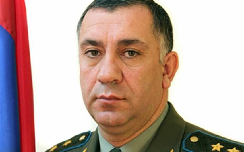 Ermənistan Baş Qərargah rəisinin müavini saxlanılıb