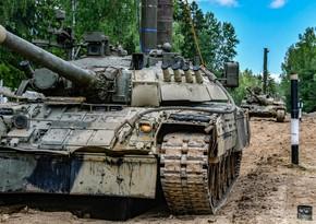 Rusiya ordusunun döyüş hazırlığının yoxlanılmasına başlanılıb