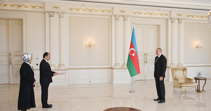 Ilham Aliyev to Turkish Ambassador: Welcome to Azerbaijan - your homeland!