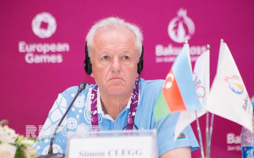 Saymon Kleqq: I Avropa Oyunlarının keyfiyyətli təşkil olunduğunu heç kəs şübhə altına ala bilməz