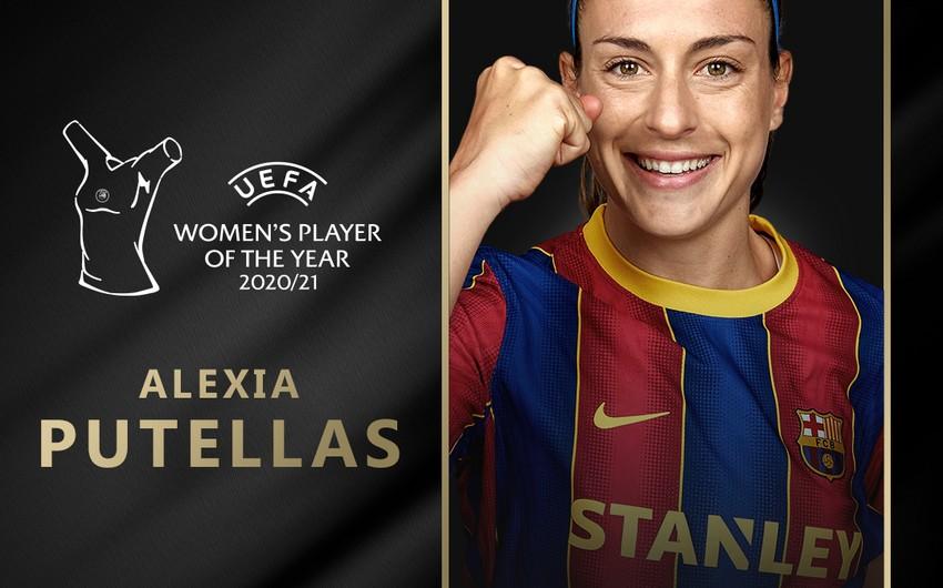Ötən mövsümün ən yaxşı qadın futbolçusu məlum olub