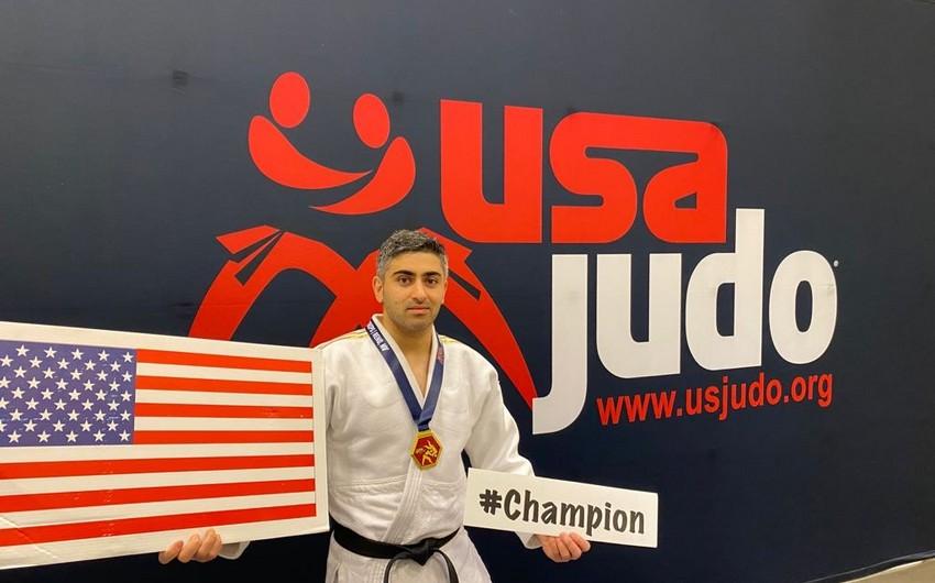 Азербайджанский дзюдоист стал чемпионом США