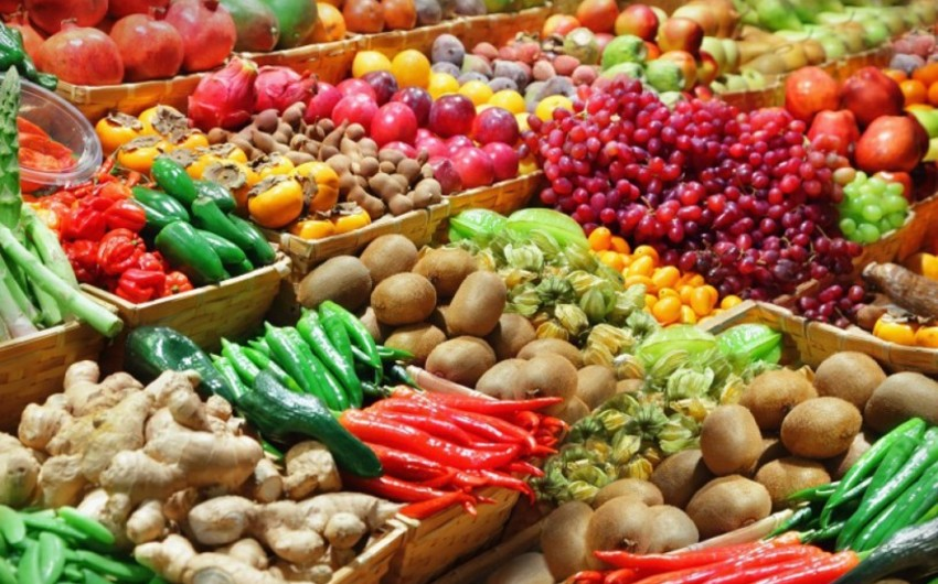 ЦАЭРК: Доход от экспорта фруктов и овощей достиг 365 млн долларов