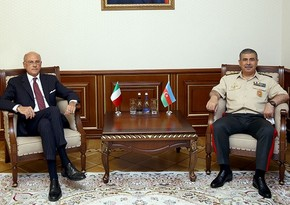 Defense Minister informs new Italian Ambassador about situation on border with Armenia