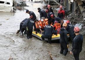 Türkiyədə sel nəticəsində ölənlərin sayı 77 nəfərə çatıb