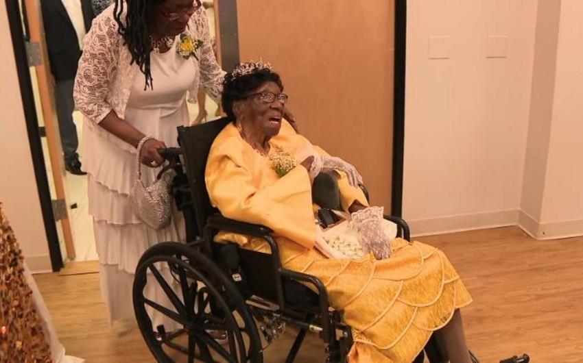 ABŞ-ın ən qoca sakini 114 yaşında vəfat edib - FOTO