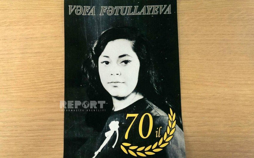 Aktrisa Vəfa Fətullayevanın 70 illik yubileyi qeyd edilib