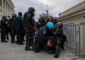 ABŞ Konqresini qoruyan polis rəisi istefa verib