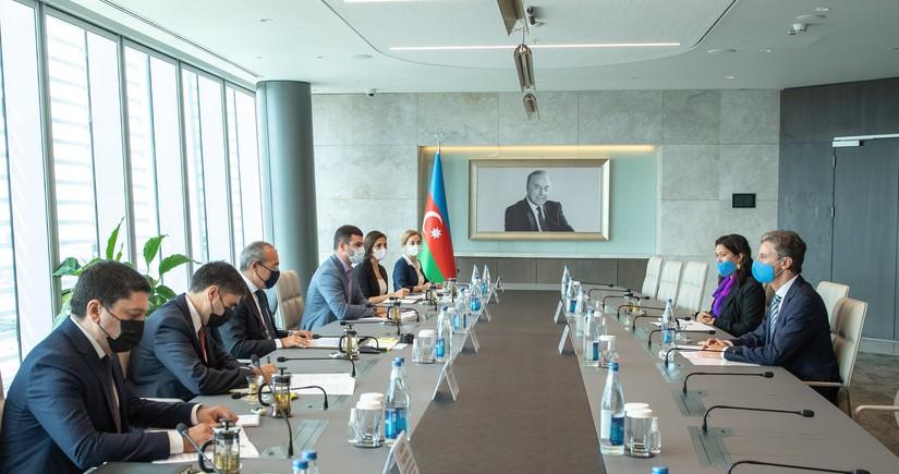 UNDP və Azərbaycan arasında əməkdaşlığın genişləndirilməsi müzakirə edilib