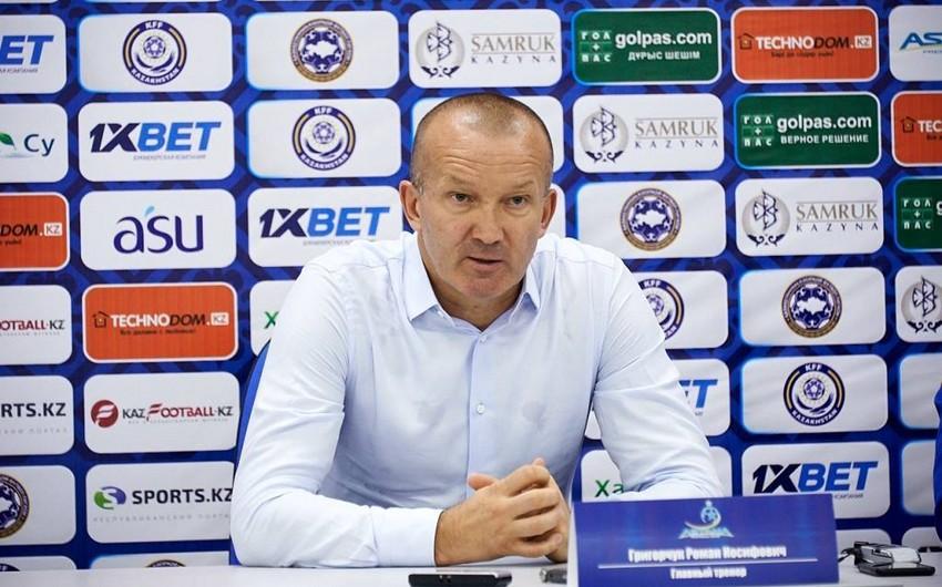 Roman Qriqorçuk Astana klubunu tərk edib