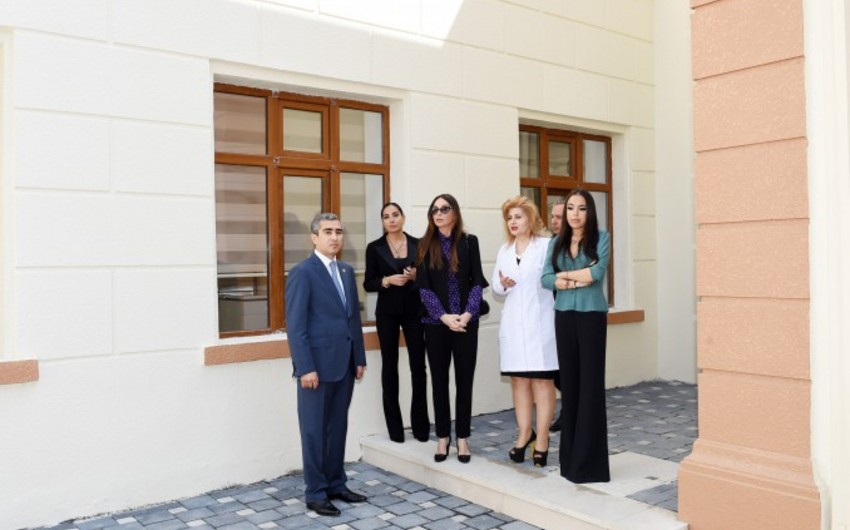 Mehriban Əliyeva körpələr evinə avtomobil bağışlayıb - FOTO